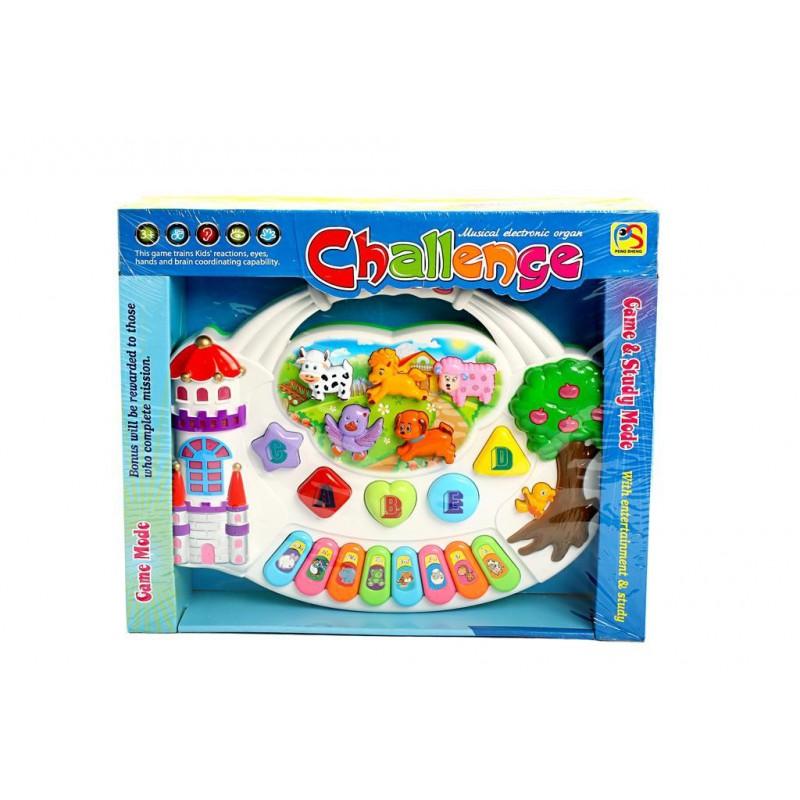 Challenge - Tableta Muzicala De Jucarie Perfecta Pentru Copilul Tau