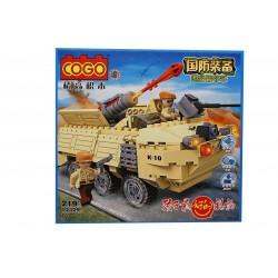 Joc de construit tip lego: Tank
