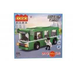 Joc de construit tip lego: Autobuz