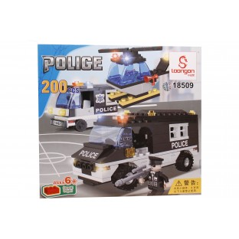 Jocul de construit tip lego: Swat