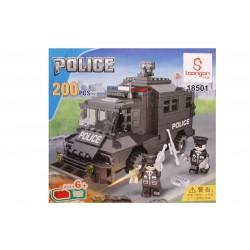 Joc de construit tip lego: Masina Blindata