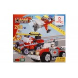 Jocul de construit tip lego: Fire Fighter