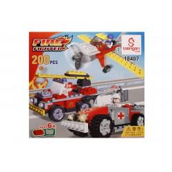 Jocul de construit tip lego:Fire Fighter