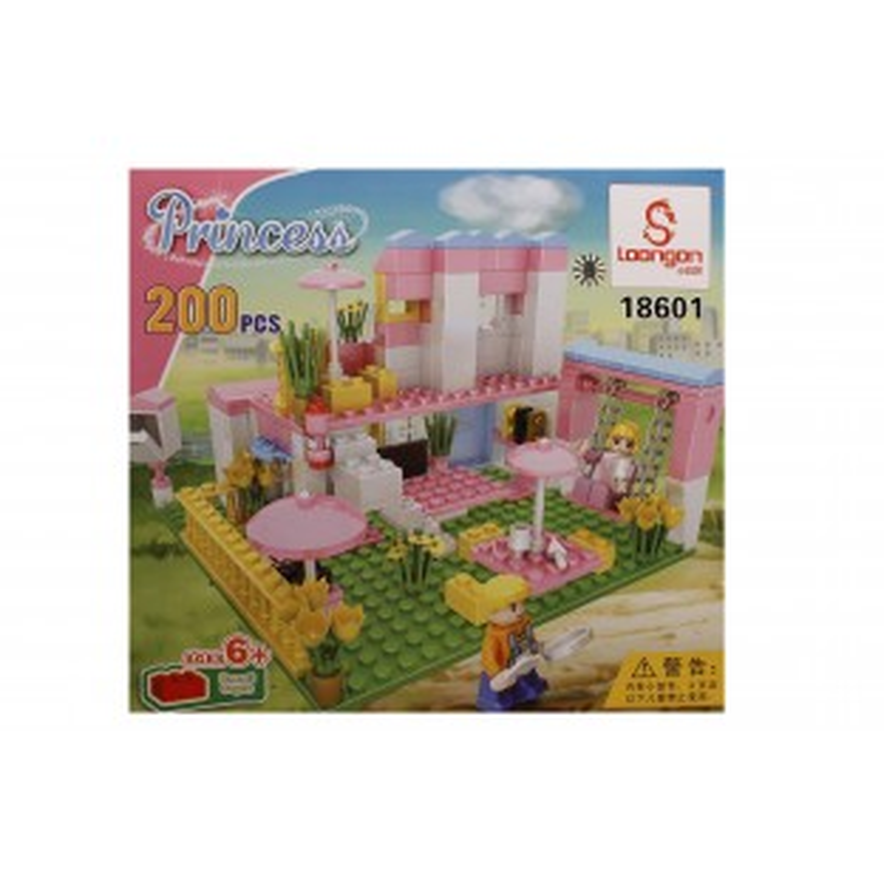 Joc de construit tip lego: Princess