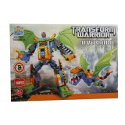 Jocul de construit tip lego:Transform Warior