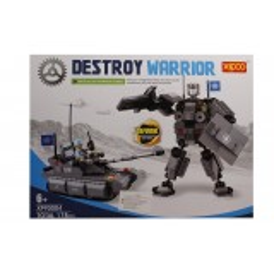 Joc de construit tip lego: Destroy Warior