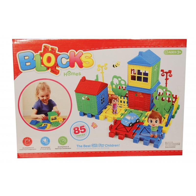 Joc de construit tip lego: Casuta