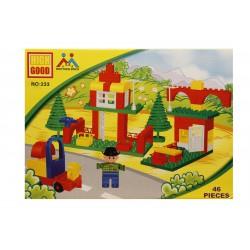 Joc de construit tip lego:Statie