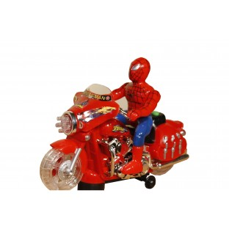 Motocicleta Spyder-Man