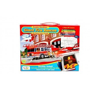Puzzle de podea: Giant Fire Rescue