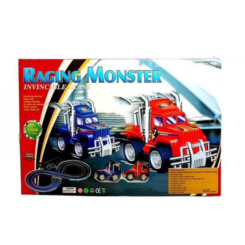 Circuit de Masinute Pentru Copii: Raging Monster