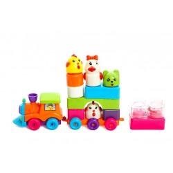 Set de Constructie Trenulet pentru Copii