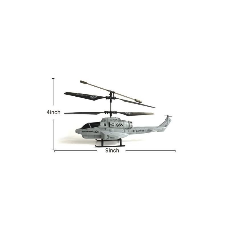 Elicopter RC - Cobra Helicopter cu Lansator de Rachete si Giroscop