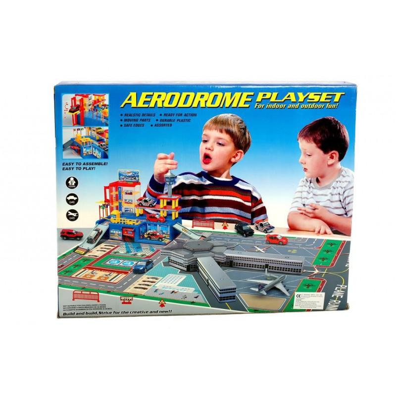 Aerodrome - Set De Constructii Pentru Copii ( 3+ Ani )